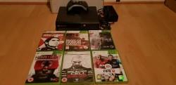 Xbox 360 E 250gb and games