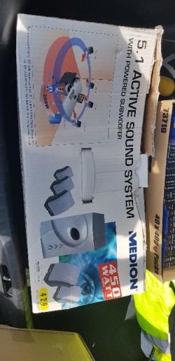 5.1 Pc sound system