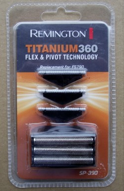 Remington F5790 shaver replacement cutters and foil head