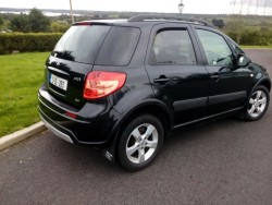Suzuki sx4 four wheel drive NCT cheap tax, 280per year, clean