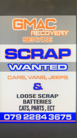 G mac Recovery service Newry / Northern Ireland covered