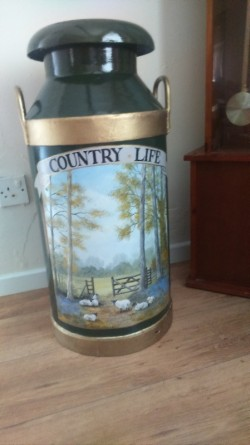 Creamery Can (painted)