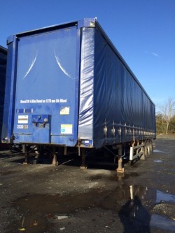 Selection of 45ft Trailers for Sale