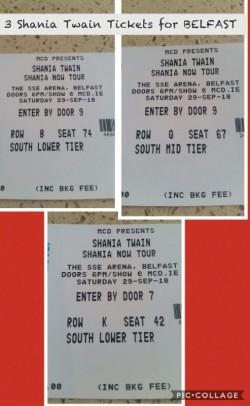 Shania Twain Ticket's Belfast
