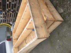 Large wooden bases