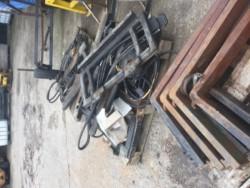 Forklift forks & side shift