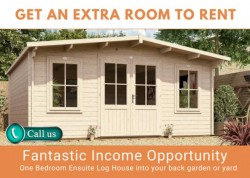 Log Cabin - Get an Extra Room to Rent
