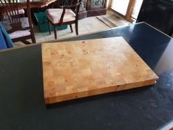 New block chopping board