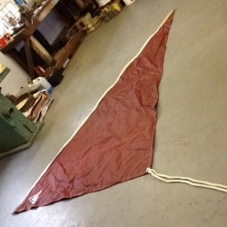 Mast & sails for 16' boat.