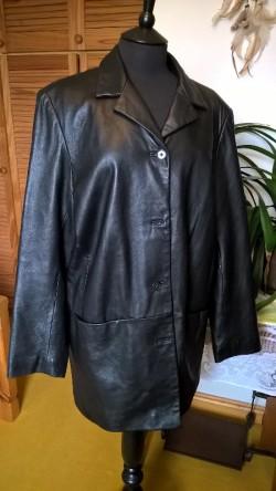 Stunning Land's End leather jacket