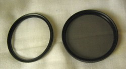 Camera Lens Filters (55mm) UV/CPL