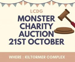 Monster Charity Auction - 21st October - Kiltormer GAA Complex Galway