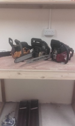 3 chainsaws for sale