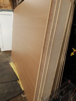 Sheets of Chipboard
