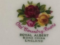 Royal Albert serving plate