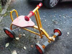 vintage kids go cart