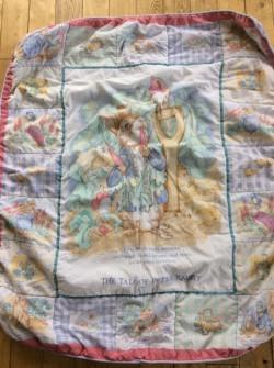 Beatrix Potter Baby Quilt