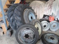 vintage tractor wheels