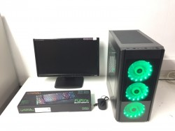 Fast Gaming Computer PC, Complete with Monitor (Intel i5 4440, 10GB RAM, 500GB HD, GTX 760)