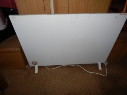 large floor stand/ wall hung electric heater