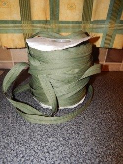 roll of green zip