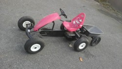 BERG COMPACT BFR PINk WITH TRAILER