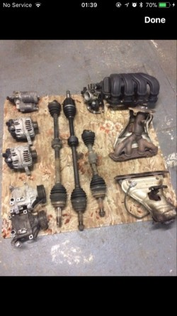 Toyota Avensis parts