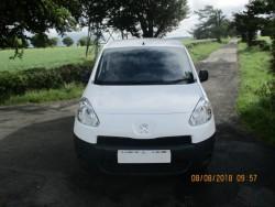 2014 White Peugeot Partner 850 Professional L1   1.6 hdi