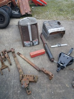 Ford 3000 drawbar