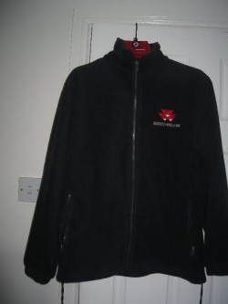 Mens Small Navy Massey Ferguson Fleece