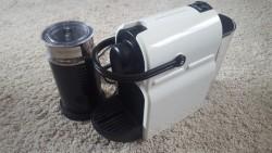 Nespresso krups coffee machine + milk frother