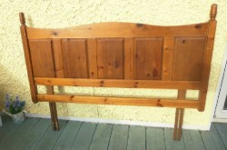 Antique Pine Headboard