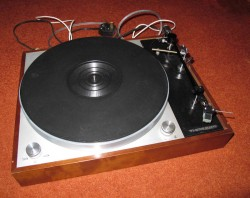 Thorens TD150 Mk2 record player deck with upgrades