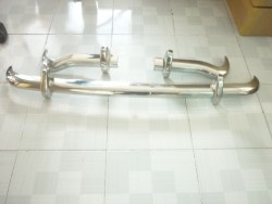 MG MK3 stainless steel bumpers