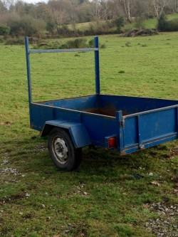 6 x 4 steel trailer