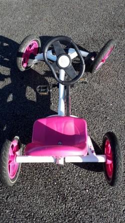 Pink Berg Go Kart