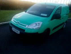 10 Citroen Berlingo 3 seater clean van, tested, 1.6hdi diesel