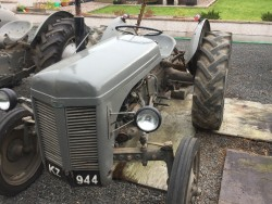 FERGUSON TED 20 Petrol/Tvo, Early 6 Volt Model, + Implements, BREAKING for Parts, All Parts Original