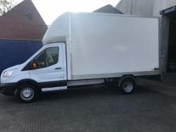 2015 Ford Transit Luton 350 with Tail Lift, 2198CC, 42K miles