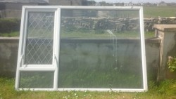 Double glazed pvc window