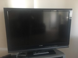 Sony 37 inch LCD Digital TV with Remote Control & Stand & FREE Sony Home Theatre System (Cost 150)