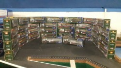 Construction models and model lorries 1:50 scale
