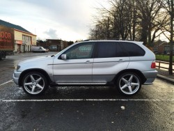 Rare 22 Inch x 10.5 AC Schnitzer Type 2's with Tyres, Bolts & Locking Nuts (ET45)