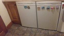 Whirlpool freezer and whirlpool fridge