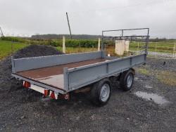 Low transporter trailer - 12x6