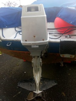 Boat Outboard Evinrude 70 HP Spares or repairs