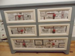 Up-cycled Chest of Drawers