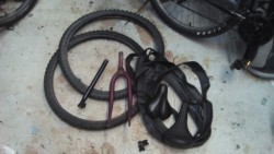 Various Bicycle parts