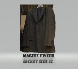 Magees tweed jacket,