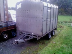 Ifor Williams 10 x 6ft6 Cattle Trailer Dual Purpose, Lights, Very Straight/ Clean,